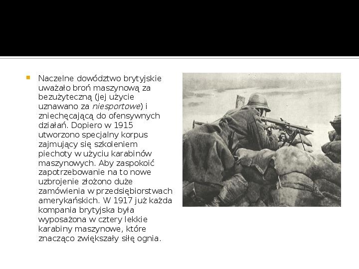 I Wojna Światowa - Slajd 9