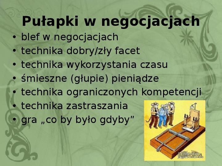 Konflikty i negocjacje - Slajd 14