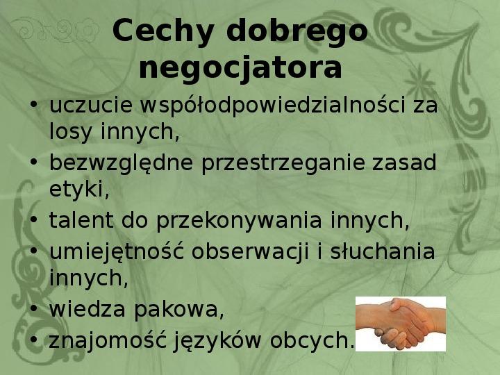 Konflikty i negocjacje - Slajd 17