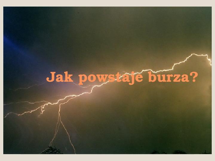 Burza - Slajd 0