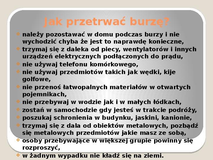 Burza - Slajd 12