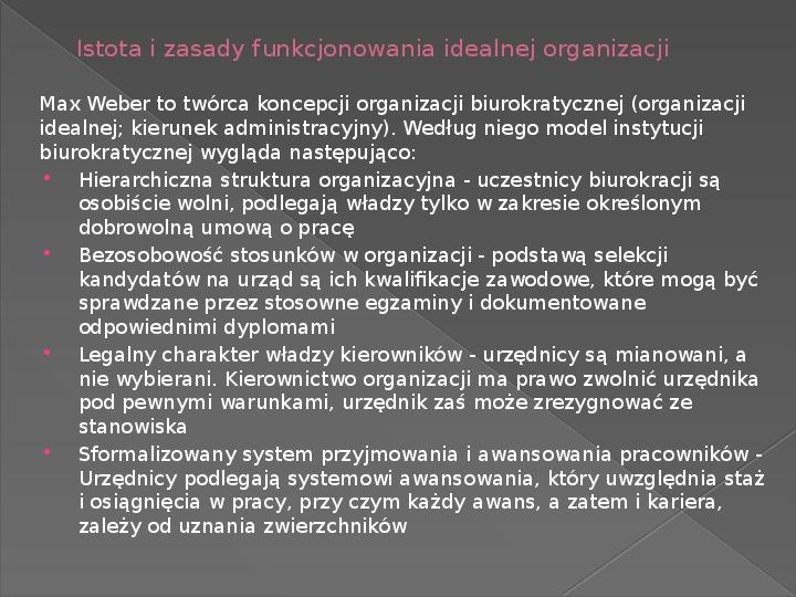 Ewolucja teorii zarządzania - Slajd 15