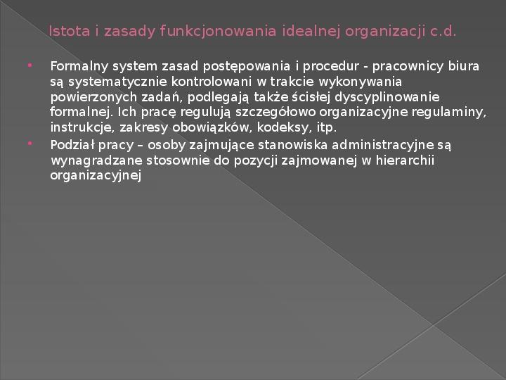 Ewolucja teorii zarządzania - Slajd 16