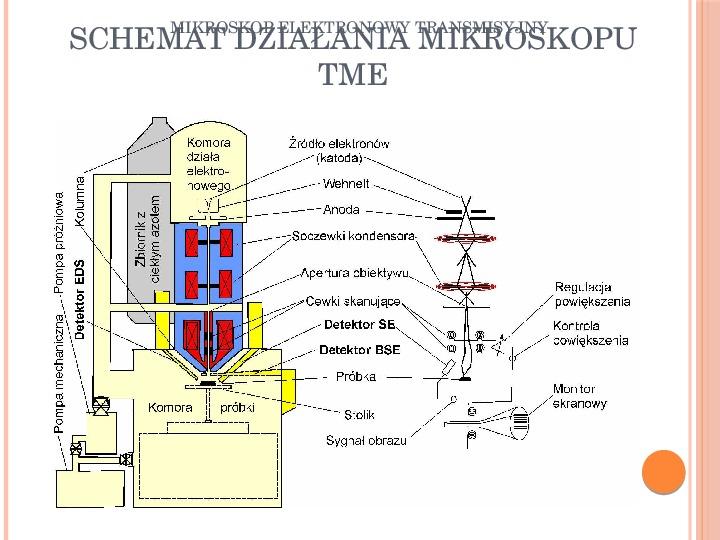 Mikroskop elektronowy transmisyjny - Slajd 9