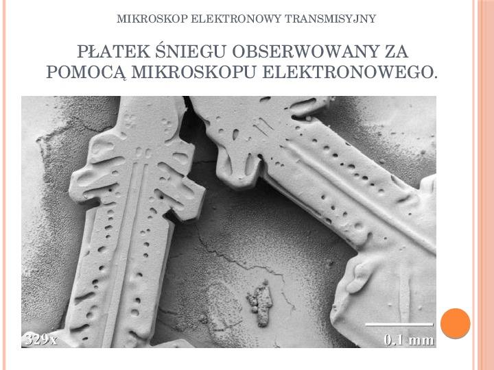 Mikroskop elektronowy transmisyjny - Slajd 15