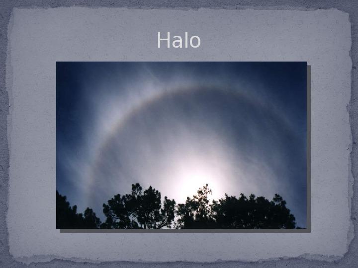 Zjawiska optyczne w przyrodzie - Slajd 12
