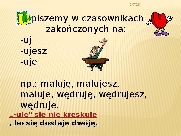 Zasady pisowni - Slajd 2