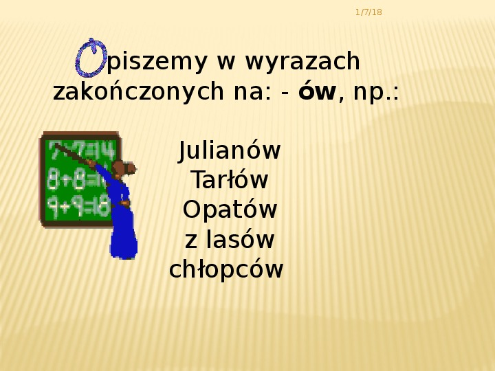 Zasady pisowni - Slajd 5