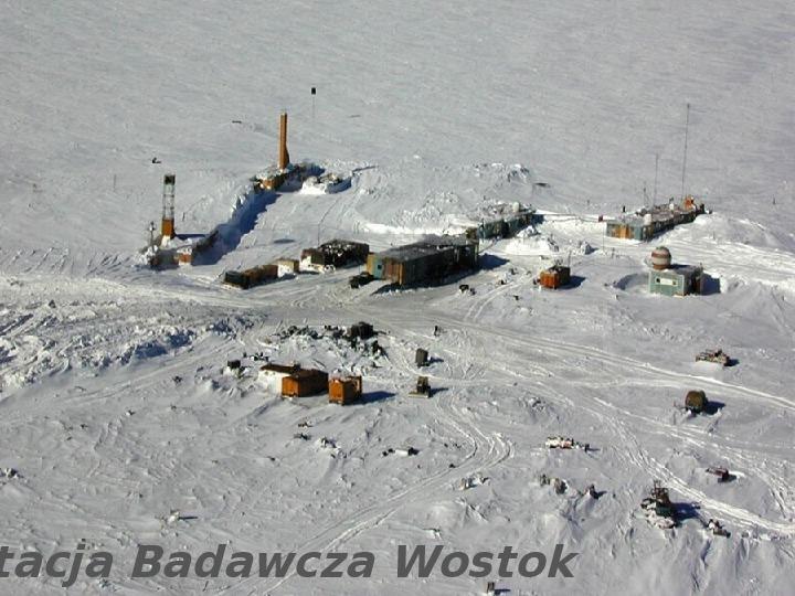 Jezioro Wostok - Slajd 2
