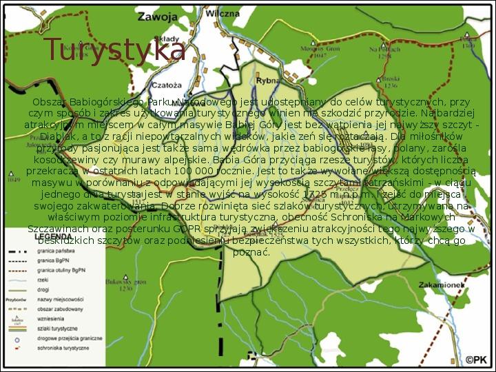 Babiogórski Park Narodowy - Slajd 10