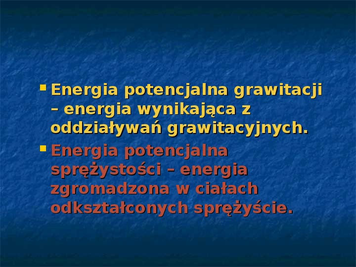 Rodzaje energii - Slajd 4