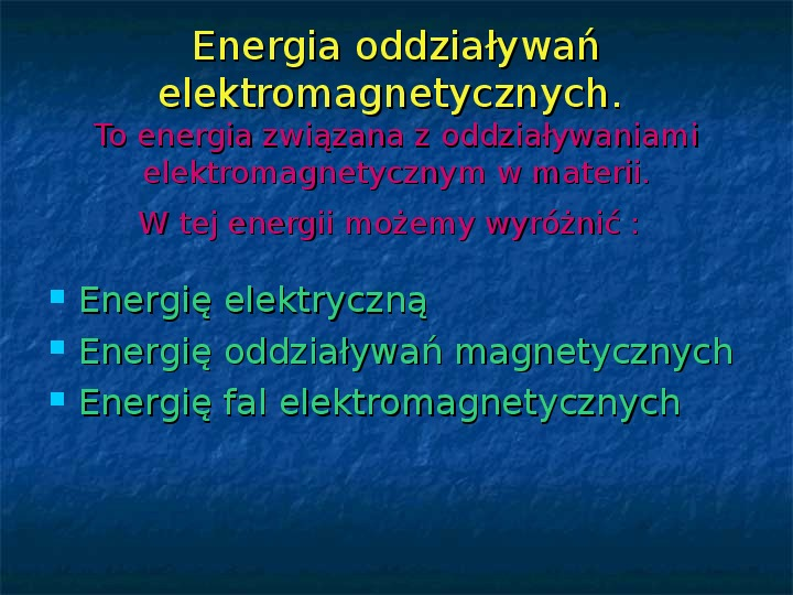 Rodzaje energii - Slajd 10
