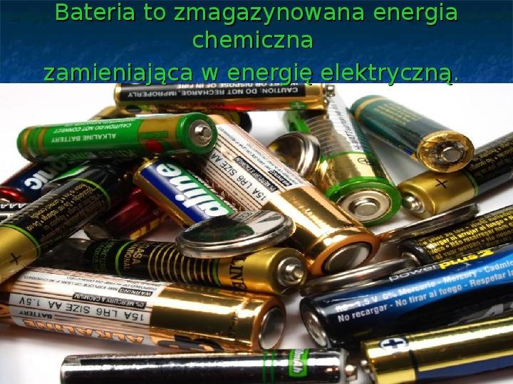 Rodzaje energii - Slajd 13
