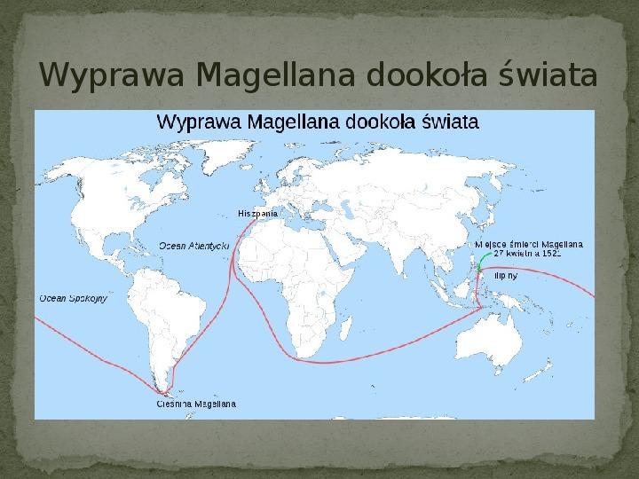 Wielkie odkrycia geograficzne na przełomie XV i XVI wieku - Slajd 11