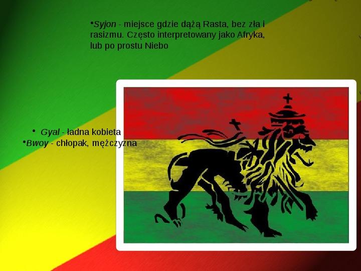 Rastafari - Slajd 6