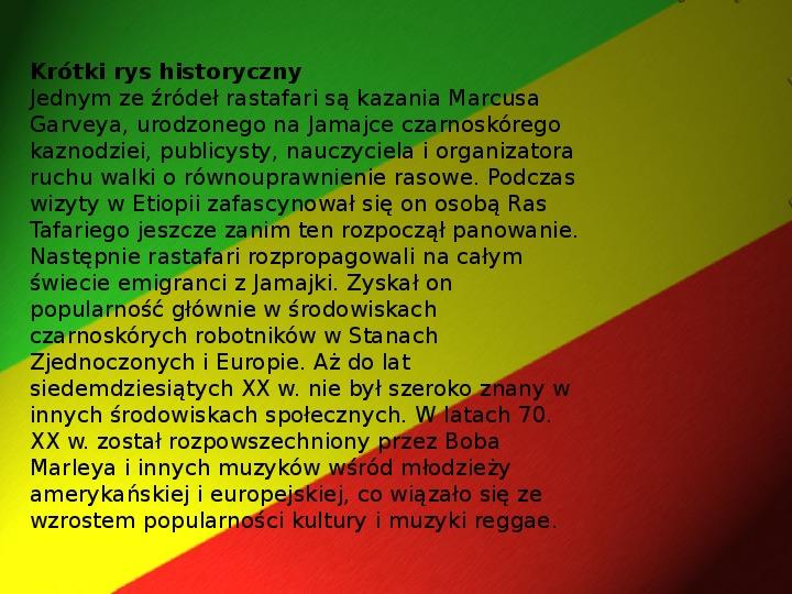 Rastafari - Slajd 8