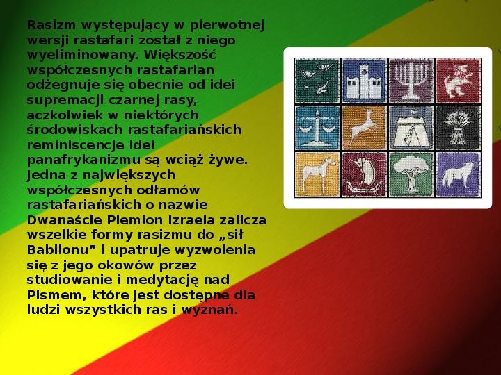 Rastafari - Slajd 14