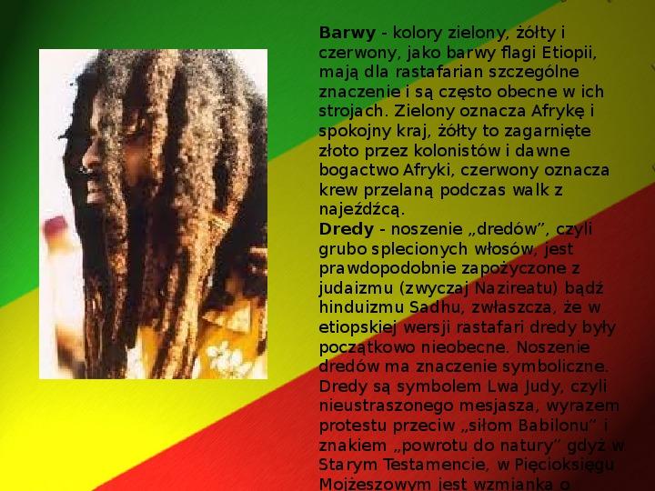 Rastafari - Slajd 19