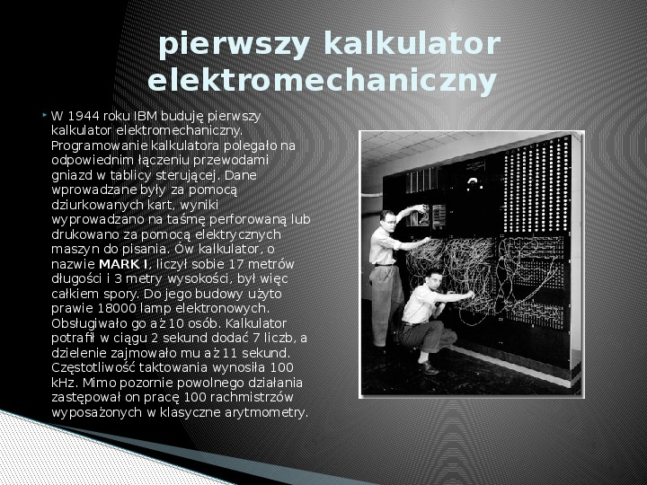 Historia informatyki - Slajd 5