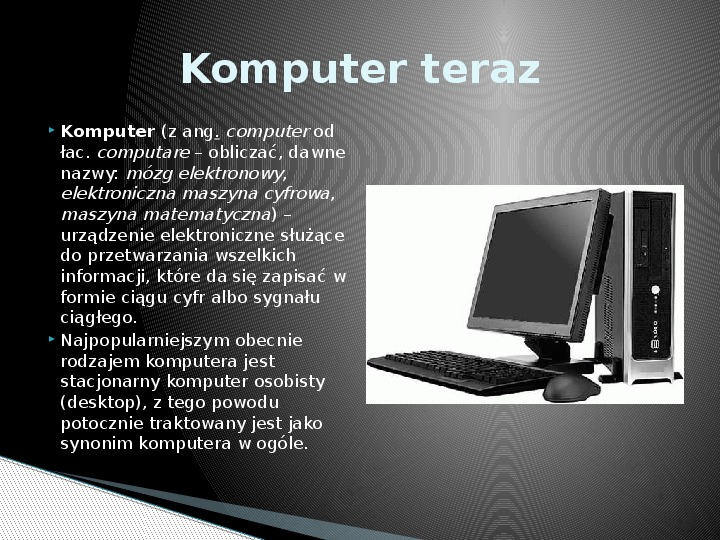 Historia informatyki - Slajd 8