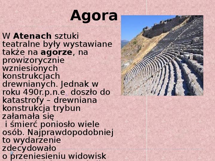 Literatura i teatr w starozytnej Grecji - Slajd 12