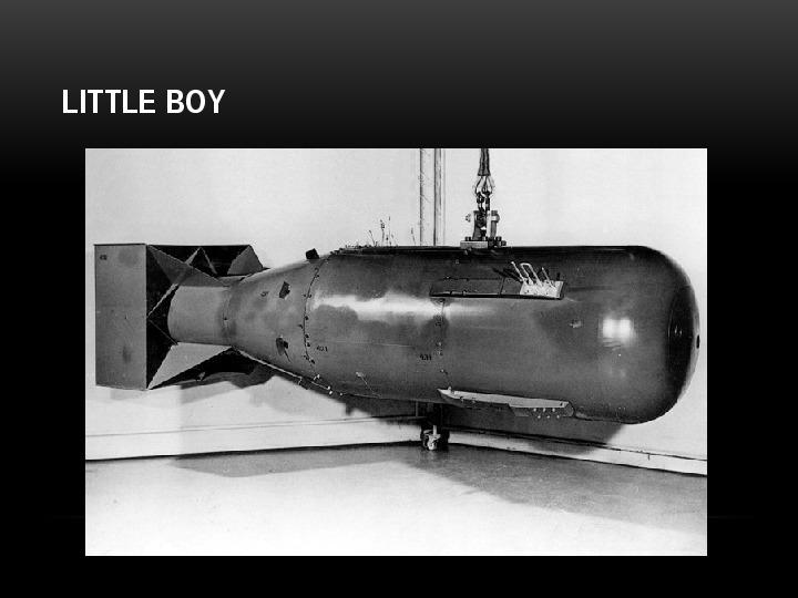 Broń jądrowa - Slajd 8