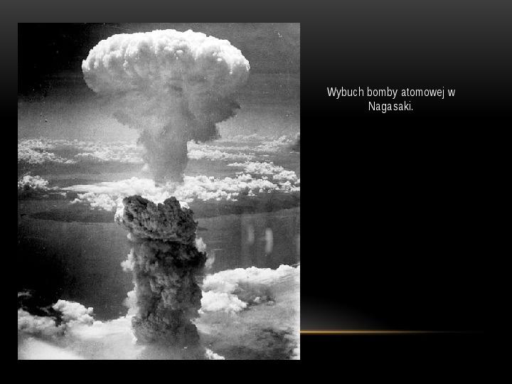 Broń jądrowa - Slajd 11