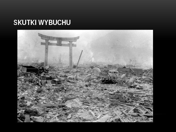 Broń jądrowa - Slajd 20