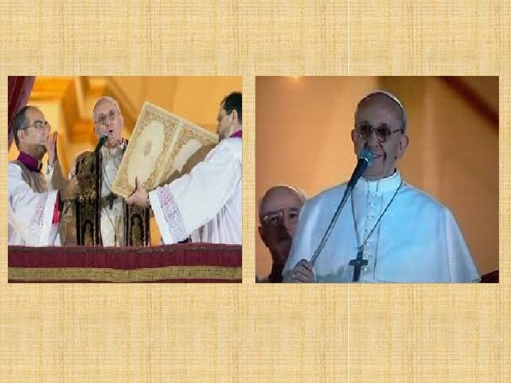 Papież Franciszek - Slajd 12