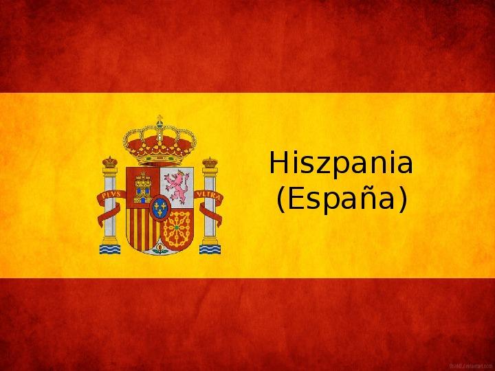 Hiszpania - Slajd 1