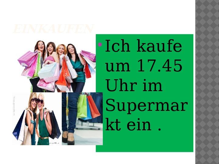 Mój dzień po niemiecku - Slajd 11