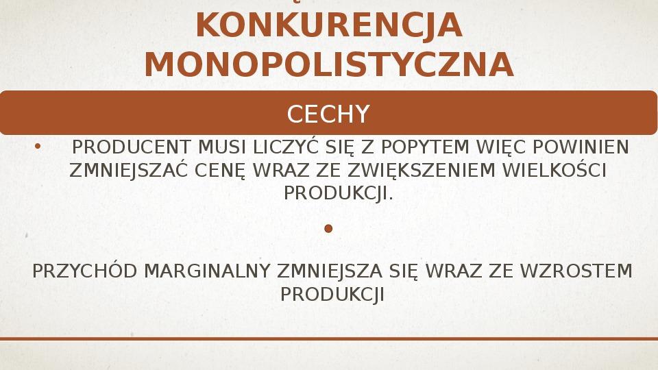 Ekonomiczne podstawy podejmowania decyzji przez producenta - Slajd 7