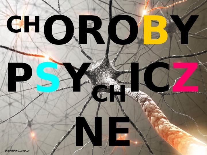 Choroby psychiczne - Slajd 1
