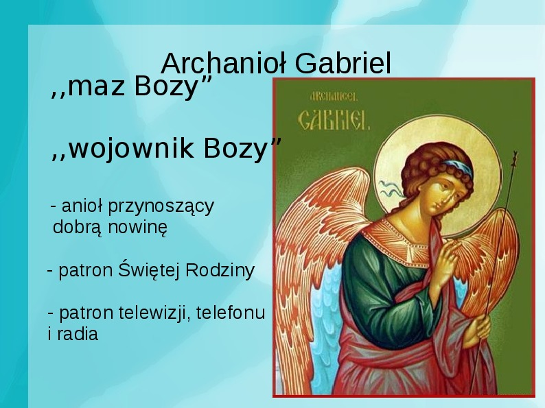 Achanioły i anioły - Slajd 17