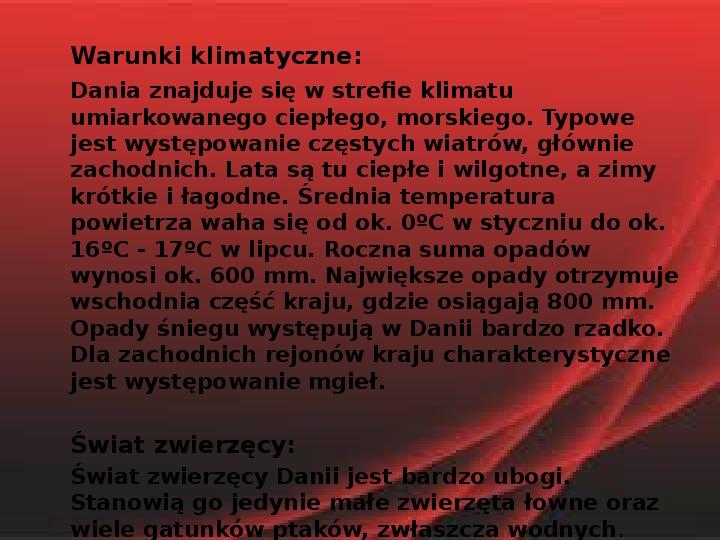 Dania - Slajd 12