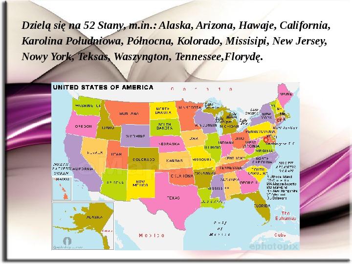 Stany zjednoczone (USA) - Slajd 2