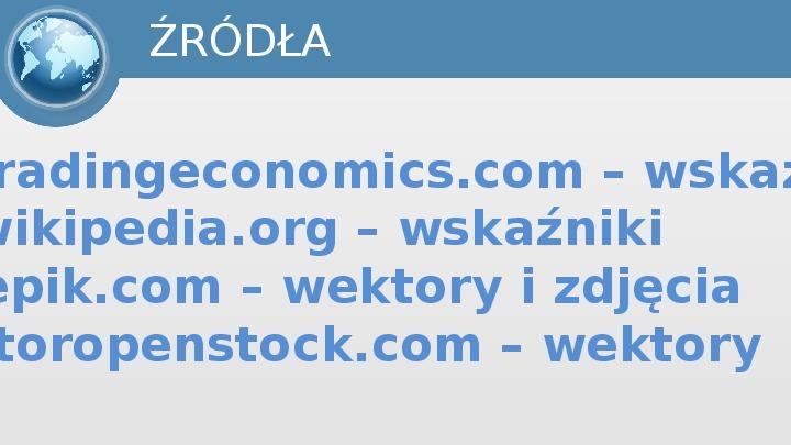 Mierniki makroekonomiczne - Slajd 19