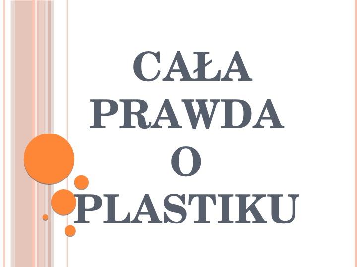 Plastik - Slajd 1