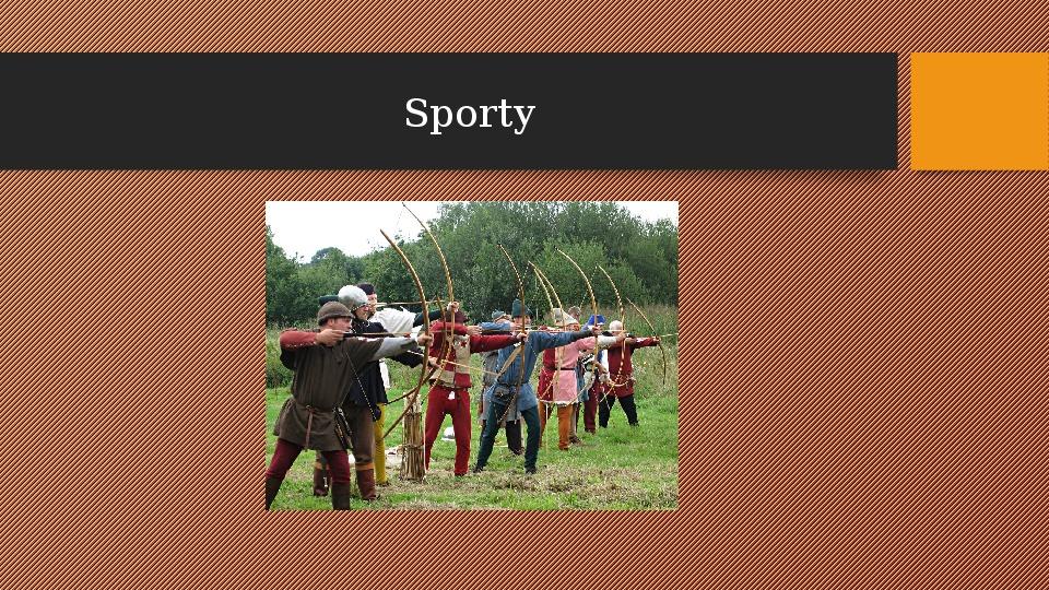 Sporty - Slajd 1