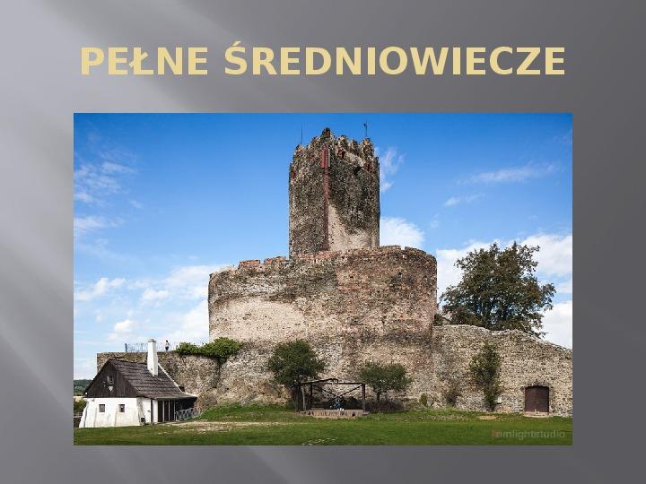 Średniowiecze - Slajd 4