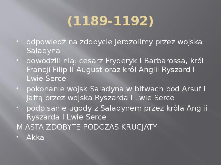 Średniowiecze - Slajd 12