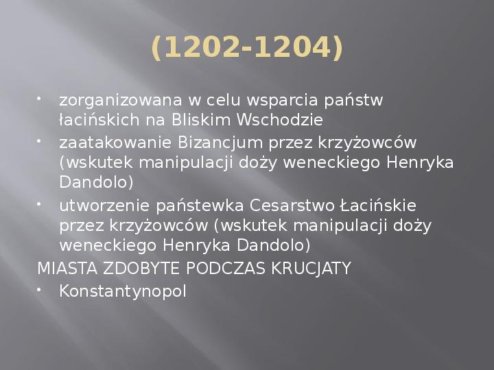 Średniowiecze - Slajd 14