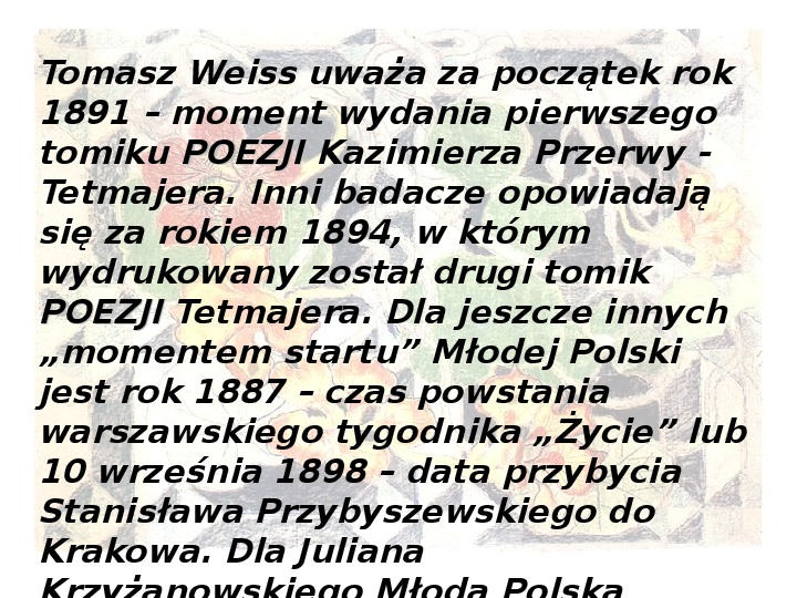 Młoda Polska - Slajd 3
