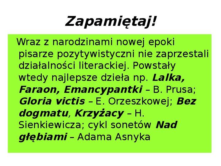 Młoda Polska - Slajd 4