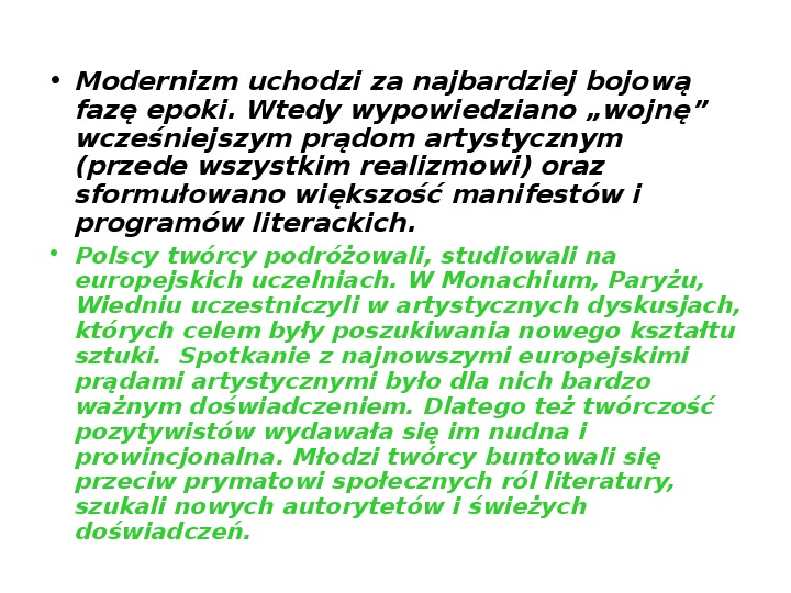 Młoda Polska - Slajd 8
