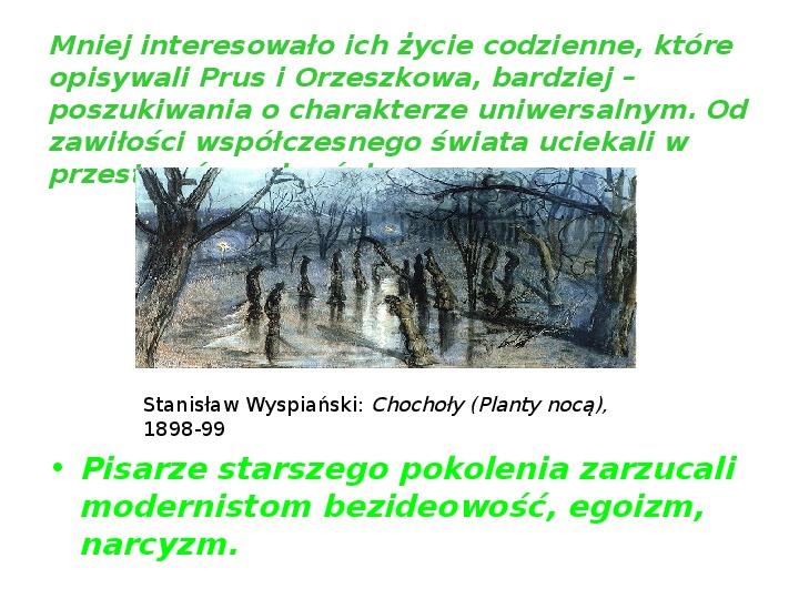 Młoda Polska - Slajd 9