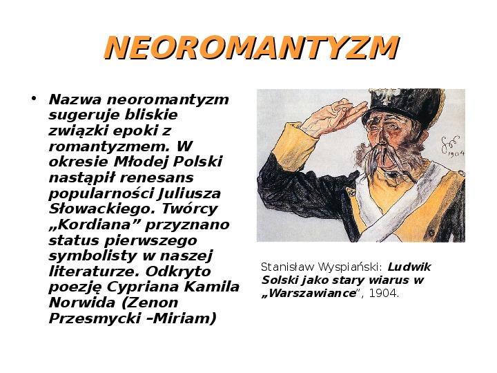 Młoda Polska - Slajd 10