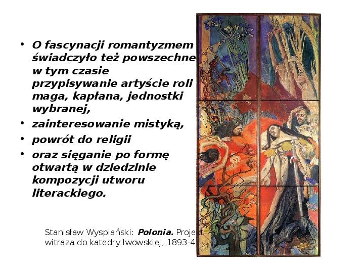 Młoda Polska - Slajd 11