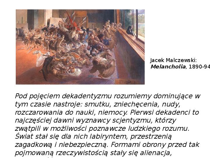 Młoda Polska - Slajd 13