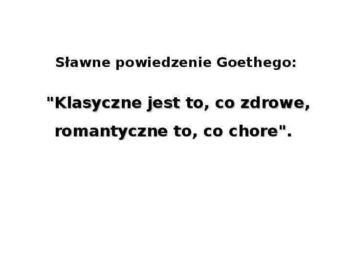 Romantyzm - Slajd 4